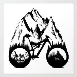 New Enduro Art Print