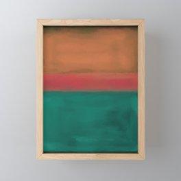 Rothko Inspired #4 Framed Mini Art Print