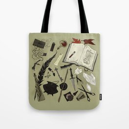 Witchy Materials Tote Bag