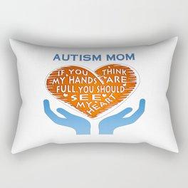AUTISM MOM Rectangular Pillow