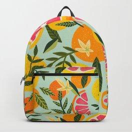 Grapefruit Blooms – Mint Palette Backpack
