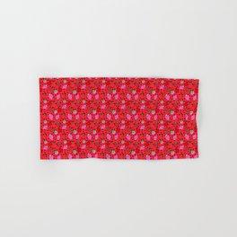 Strawberry Pattern Hand & Bath Towel