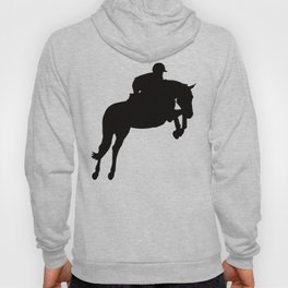 Jumping Horse Silhouette Hoody