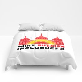 What Russian Influence? Comforters