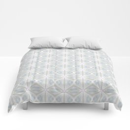 Geometric pattern of light colors. Comforters