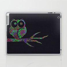Owl on a branch Laptop & iPad Skin