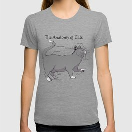 The Anatomy of Cats T-shirt