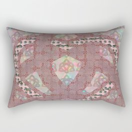 Triquetra knot with heart Rectangular Pillow