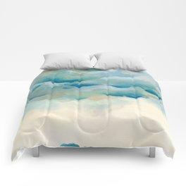 Cloudy night Comforters