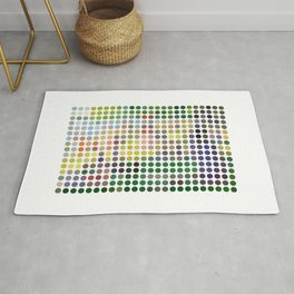 Georges Seurat Remixed (2009) Rug