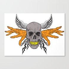 BAD BONE Canvas Print