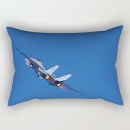 F14 -VF 101 - 'Into the Wild Blue' Rectangular Pillow