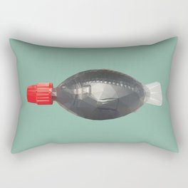 Fish bottle sushi soysauce polygon art Rectangular Pillow