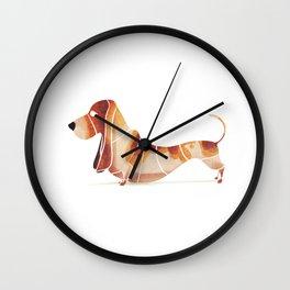 basset Wall Clock