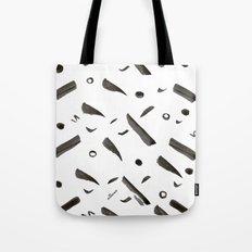 Brushes Pattern Tote Bag