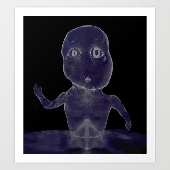 Godisnowhere Art Print
