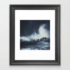 everlasting mountains Framed Art Print