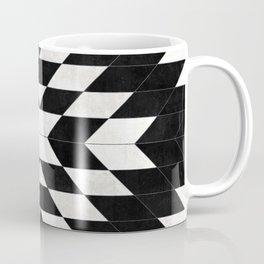Urban Tribal Pattern No.14 - Aztec - Black Concrete Coffee Mug