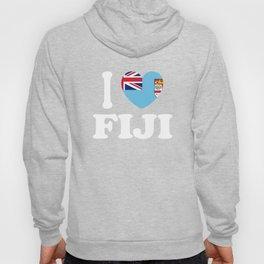 I Love Fiji Hoody