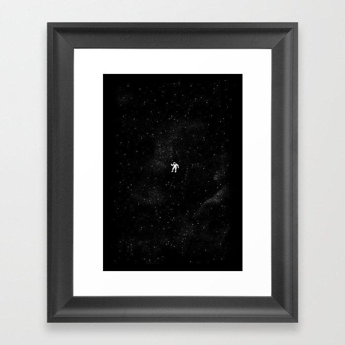 Gravity Gerahmter Kunstdruck