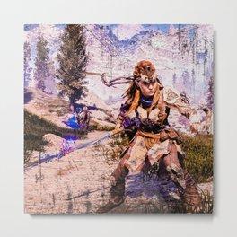 Shield Weaver Metal Print