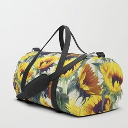 Sunflowers Forever Duffle Bag