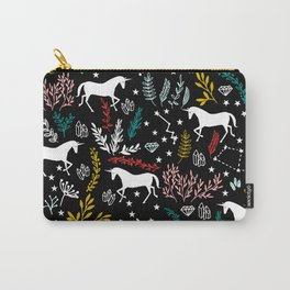 Magical Unicorn and Star Constellations Carry-All Pouch