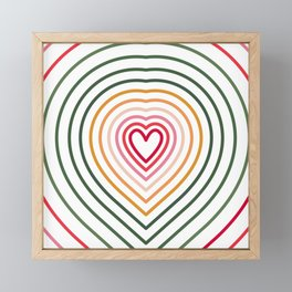 Colourful Lines 3 Framed Mini Art Print