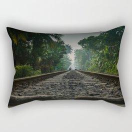 Railroad Track Rectangular Pillow