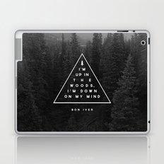 Woods -- Bon Iver Laptop & iPad Skin
