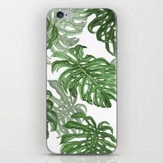 Monstera Deliciosa iPhone & iPod Skin