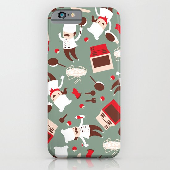 Chef pattern iPhone & iPod Case
