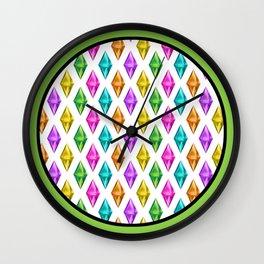 Diamond Plumbob Wall Clock