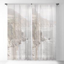 Big Sur California Sheer Curtain