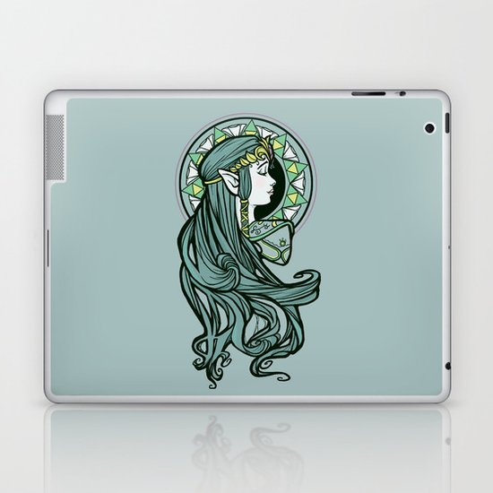 Zelda Nouveau Laptop & iPad Skin