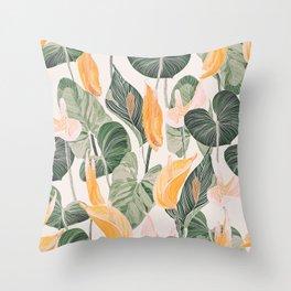 Lush Lily - Autumn Throw Pillow