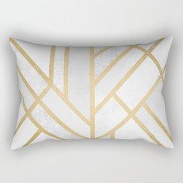 Art Deco Geometry 2 Rectangular Pillow