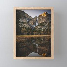 Yosemite Falls Framed Mini Art Print