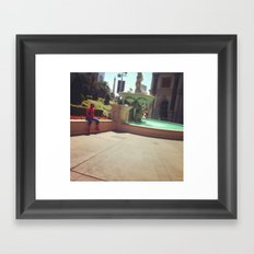 Spiderman, party of 1 Framed Art Print