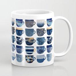 Pretty Blue Coffee Cups Coffee Mug