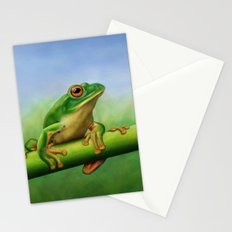 Moltrecht's Green Treefrog Stationery Cards