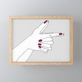 Bang Bang Framed Mini Art Print