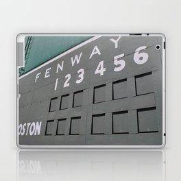 Fenwall -- Boston Fenway Park Wall, Green Monster, Red Sox Laptop & iPad Skin