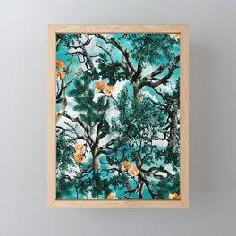 Natural Camouflage Framed Mini Art Print