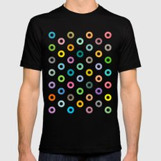 Auras. Mens Fitted Tee Black 2X-LARGE