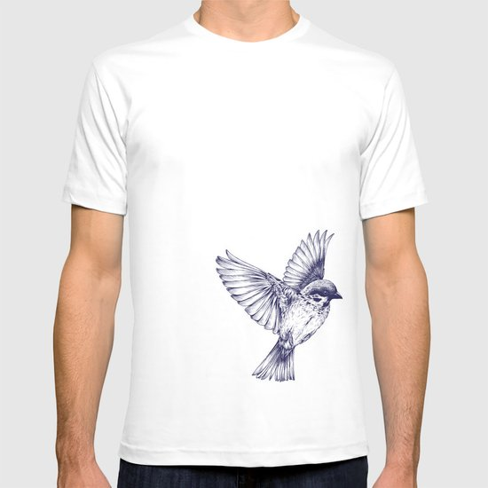 lost bird T-shirt