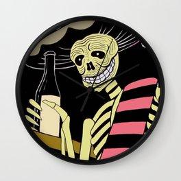 Day of the Dead/Dia de los Muertos Wall Clock