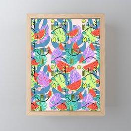 Fresh summer Framed Mini Art Print