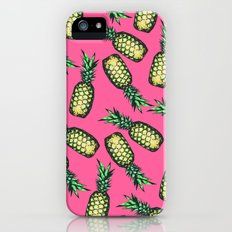 Pineapple Pattern iPhone (5, 5s) Slim Case