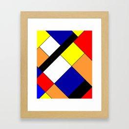 Mondrian #18 Framed Art Print